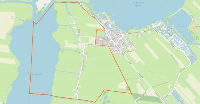 Dijken is een zeer landelijk gelegen buurtschap, met louter verspreid gelegen boerderijen (en een kerkhof met klokkenstoel). De watersportliefhebber kan zich hier uitleven met W van de buurtschap het meer De Kûfurd en NO ervan de Langwarder Wielen.