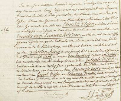 Een ander punt is dat men tot medio 19e eeuw plaatsnamen vaak opschreef zoals ze klonken. Zo hoort de burgemeester van gem. Nieuwkoop bij een overlijdensaangifte in 1849 kennelijk als dialectnaam van Doetinchem 'Deudekom' en komt dat in de akte terecht.