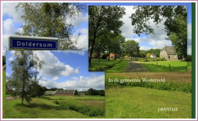 Doldersum is een dorp in de provincie Drenthe, gemeente Westerveld. T/m 1997 gemeente Vledder. (© Jan Dijkstra, Houten)