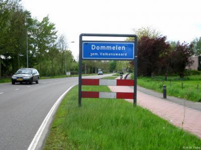 Dommelen is een dorp in de provincie Noord-Brabant, in de regio Zuidoost-Brabant, en daarbinnen in de streek Kempen, gemeente Valkenswaard. Het was een zelfstandige gemeente t/m 30-4-1934.
