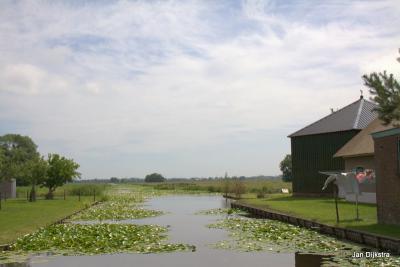 Een blik vanaf Donkereind over Polder Groot Wilnis-Vinkeveen