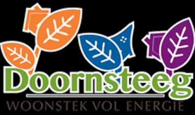Het logo van de nieuwbouwwijk Doornsteeg, die sinds 2016 wordt ontwikkeld op de plek van de gelijknamige oude Nijkerkse buurtschap.