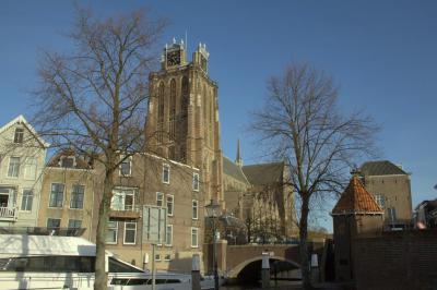 Dordrecht, stadsgezicht met o.a. de Grote Kerk (© Jan Dijkstra, Houten)