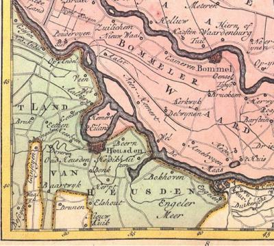 Help! Op deze kaart, uit 1773, staat de naam Bruk, NW van Eethen. Volgens een bepaalde bron was dit een buurtschap in de voorm. gem. Drongelen. Volgens anderen was het wellicht een toenmalige benaming voor Babyloniënbroek. Wie kan hier meer over zeggen?