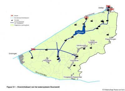 Het gebied 'Watersysteem Duurswold' van Waterschap Hunze en Aa's komt voor een groot deel overeen met de geografische streek Duurswold. Die streek omvat het grondgebied van de voormalige gemeente Slochteren.