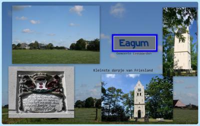 Eagum, collage van buurtschapsgezichten (© Jan Dijkstra, Houten)