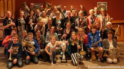 Fanfare Wilhelmina Easterein is opgericht in 1898 ter gelegenheid van de inhuldiging van koningin Wilhelmina, en speelt in de 2e divisie, waarin zij in 2015 Nederlands kampioen zijn geworden.
