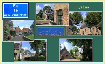 Ee, collage van dorpsgezichten (© Jan Dijkstra, Houten)