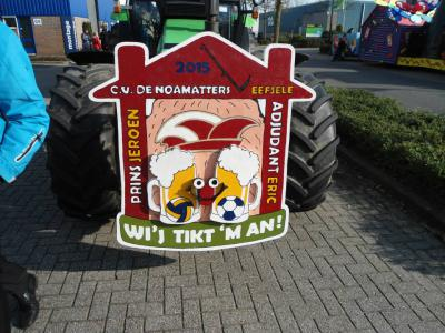 De buurtschap Eefsele heeft sinds 11-11-2012 een eigen carnavalsvereniging: C.V. De Noamatters.