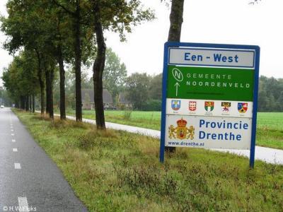 Een-West is een buurtschap in de provincie Drenthe, gemeente Noordenveld. T/m 1997 gemeente Norg.