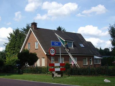 Ees is een dorp in de gemeente Borger-Odoon. T/m 1997 gemeente Borger. (© H.W. Fluks)