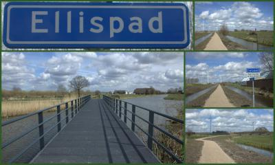 Het Ellispad is een nieuw fietspad vanaf de Knoesterweg over de Schalkwijker Wetering naar de Linielanding, hét vertrekpunt om het Eiland van Schalkwijk te ontdekken. De Knoesterweg is nu vanuit Houten makkelijk te bereiken via de Nieuwe Heemstederbrug.