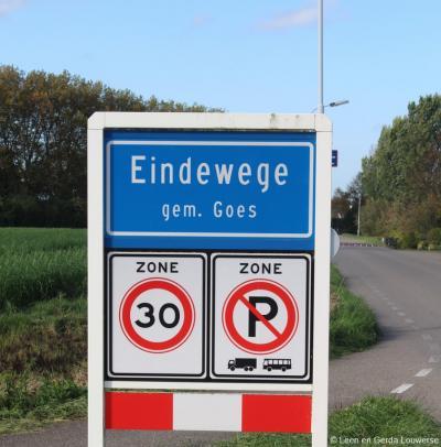 Eindewege is een buurtschap en tevens deels bedrijventerrein in de provincie Zeeland, in de streek Zuid-Beveland, gemeente Goes. T/m 1969 gemeente 's-Heer Arendskerke.