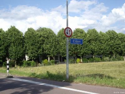 Elden is een dorp in de provincie Gelderland, in de streek Betuwe en daarbinnen in de regio Over-Betuwe, gemeente Arnhem.