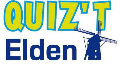 Quiz't Elden is een dorpskwis waarbij teams strijden om wie het meest weet over zijn dorp. Als je iets met Elden hebt, kun je meedoen met een team van vijf personen van minimaal 18 jaar. De hoofdprijs is de eer en een wisseltrofee.