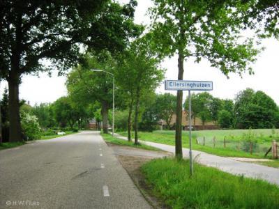 Ellersinghuizen is een van de tientallen idyllische buurtschappen van de gemeente Vlagtwedde, waar je nog volop rust en ruimte vindt.