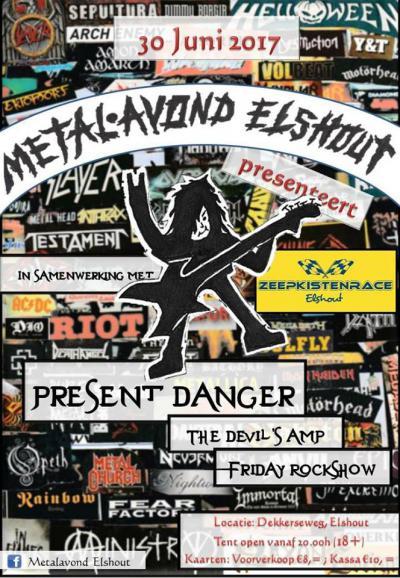 Een of twee keer per jaar is er een Metalavond in Elshout. Hier zie je het programma van de Metalavond op 30 juni 2017.