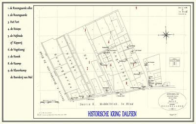 Buurtschap Engeland bij Dalfsen. Op de kadastrale minuut uit 1832 is sprake van een veldnaam Engelland, op een plek die tegenwoordig de Knijpe of de Kniepe heet