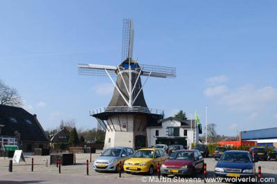 Ermelo, museum Het Pakhuis en molen De Koe.