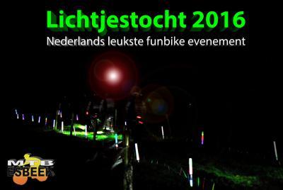Het andere evenement van MTB Esbeek is de Lichtjestocht (eind maart), naar eigen zeggen 'Nederlands leukste funbike-evenement'. Kennelijk is dat niet teveel gezegd, want de inschrijving via internet is altijd binnen een half uur volgeboekt...