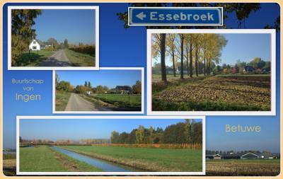Essebroek, collage buurtschapsgezichten (© Jan Dijkstra, Houten)