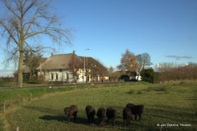 De landelijke Bommelweg in Est.