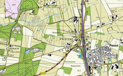 Tegenwoordig is de naam Bultinge helemaal van de kaarten verdwenen, en wordt de hele bebouwing W van de A28 ter plekke als buurtschap Eursinge beschouwd, ook in de straatnaam en qua plaatsnaamborden.