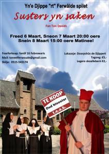 Het kleine dorp Ferwoude heeft een rijk verenigingsleven, w.o. toneelvereniging Yn 'e Djippe'rt', die jaarlijks een uitvoering op de planken brengt