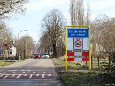 Finsterwolde is een dorp in de provincie Groningen, gemeente Oldambt. Het was een zelfstandige gemeente t/m 1989. In 1990 over naar gemeente Reiderland, in 2010 over naar gemeente Oldambt.