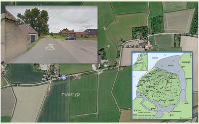 Foarryp is een zeer oude nederzetting. De Wijnaldumerpolder, waar ook deze buurtschap in ligt, is een van de vier 'moederpolders' van de streek Westergo. (© Jan Dijkstra, Houten)