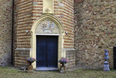 Franeker, ingang Martenastins (© Jan Dijkstra, Houten)