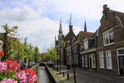 De Noord is een van de monumentale straatjes in de binnenstad van Franeker (© Jan Dijkstra, Houten)