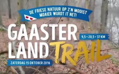Het bosrijke Gaasterland is natuurlijk een populaire streek om te wandelen. Voor de sportieve bikkels die van een uitdaging houden, is er in oktober de Gaasterland Trail, over naar keuze 9,5, 20,5 of 37 km. Gaasterland op z'n mooist. Moaier wurdt it net!