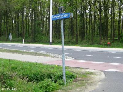 Gammelke en Dulder zijn de enige buurtschappen in de gemeente Dinkelland die nog plaatsnaamborden moeten ontberen. Gelukkig staat onder de straatnaambordjes wel onder welke vroegere marke de weg viel, in dit geval dus Gammelke.