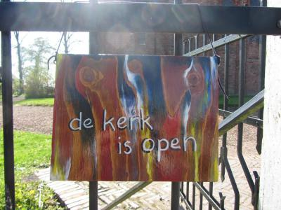 In de zomer is de Hervormde kerk van Garmerwolde dagelijks open voor bezichtiging.