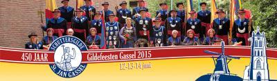 Schuttersgilde Sint Jan in Gassel is vermoedelijk reeds opgericht in 1565, getuige het jaartal in het vaandel. In 2015 hebben zij dan ook het 450-jarig bestaan gevierd met een feestweekend.