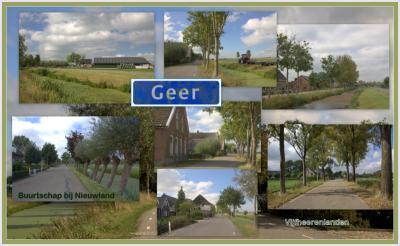 Geer, collage van buurtschapsgezichten (© Jan Dijkstra, Houten)