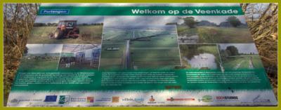 Op een informatiepaneel aan de Veenkade, in het uiterste N van buurtschap Portengen, NO van buurtschap Geer, kun je lezen en zien wat er zo bijzonder is aan dit gebied. En dat is heel wat! (© Jan Dijkstra, Houten)