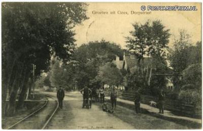 Gees, Dorpsstraat (1908)