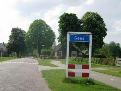 Gees is een dorp in de provincie Drenthe, gemeente Coevorden. T/m 1997 gemeente Oosterhesselen.
