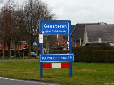 Geesteren is een dorp in de provincie Overijssel, in de streek Twente, gemeente Tubbergen.