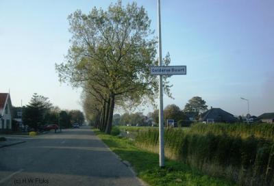 De Gelderse Buurt bij Anna Paulowna is vernoemd naar de oorspronkelijke Gelderse 'kolonisten' die hier de polder kwamen ontginnen.