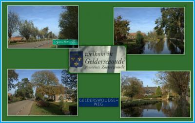 Gelderswoude, collage buurtschapsgezichten (© Jan Dijkstra, Houten)