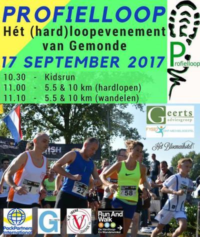 De Profielloop was eigenlijk bedoeld als eenmalig evenement in Gemonde, in 2016 georganiseerd door twee scholieren. Maar het was zó'n succes dat het een jaarlijks evenement is geworden. Mooi toch?!