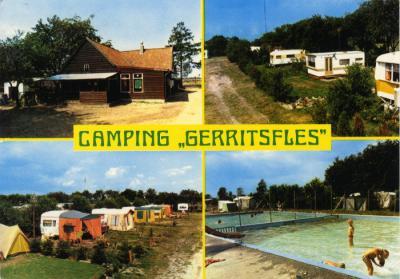 Camping Gerritsfles was decennialang een populaire camping. In 2002 is de camping opgeheven, nadien afgebroken, gesaneerd en 'teruggegeven aan de natuur'.