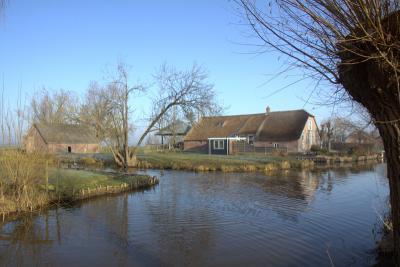 Een waterrijk gebied dat Gerverscop. Als je hier als kind opgroeit, kun je naar hartelust kanoën en roeien op de Gerverscopse Wetering aan de voorkant en de sloten aan de zijkanten. (© Jan Dijkstra, Houten)