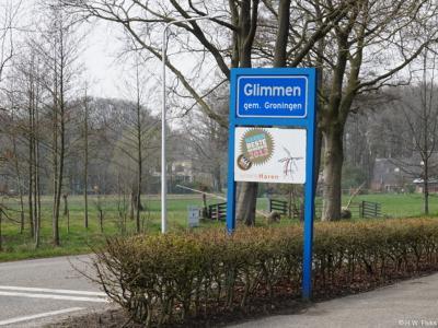 Glimmen is een dorp in de provincie Groningen, in de streek Hondsrug, gemeente Groningen. T/m 2018 gemeente Haren.