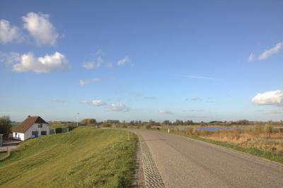 Buurtschap Goilberdingen, Goilberdingerdijk richting Fort Everdingen (© Jan Dijkstra, Houten)