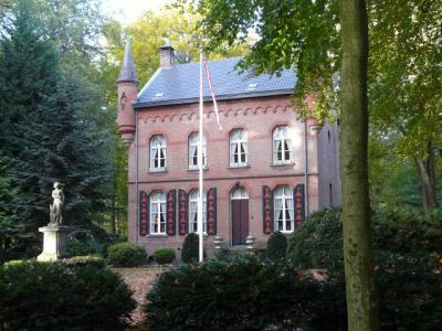 Gorp, neogotisch jachthuis, ook wel 'het kasteel' genoemd