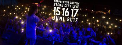 Tijdens het Dorpsfeest Stoke City Live (weekend in juni) staat Goutum een heel weekend op zijn kop, met allerlei sport- en spelactiviteiten voor jong en ouder, en heel veel live bands.